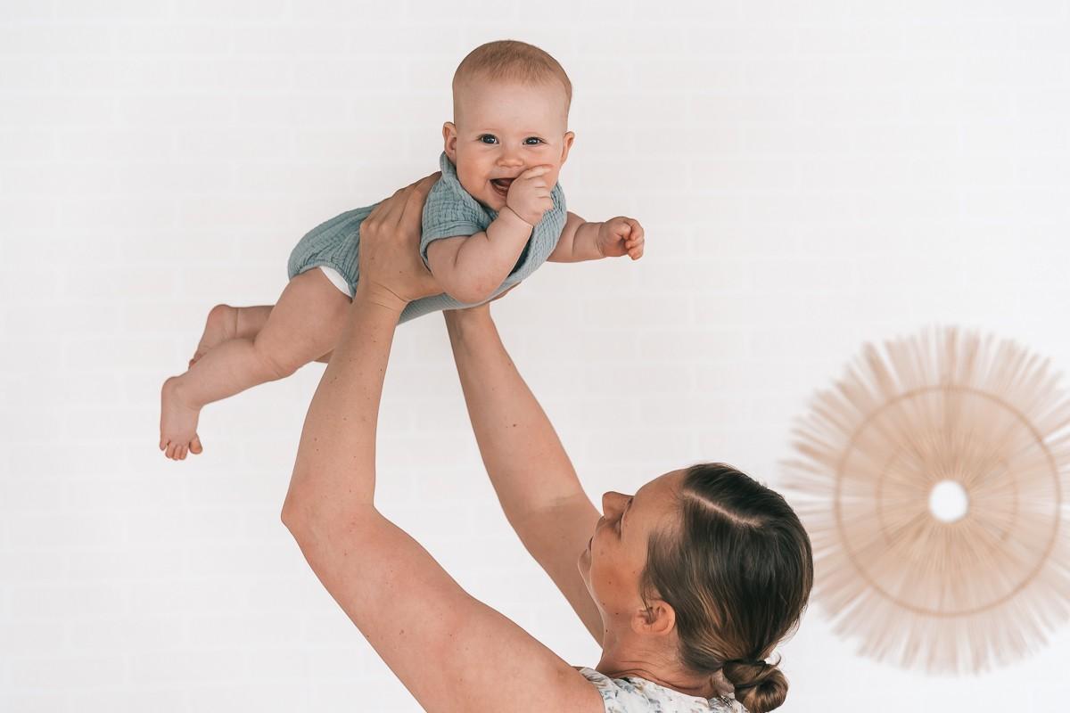 Babyfotoshooting in meinem Fotostudio in Lörrach - Neugebornenfotografie in Lörrach